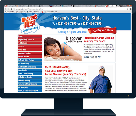 Website Signup Heaven S Best Carpet Cleaning