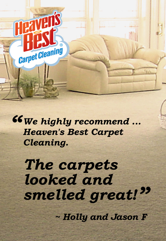 Heaven's Best Carpet Cleaning [city, state]